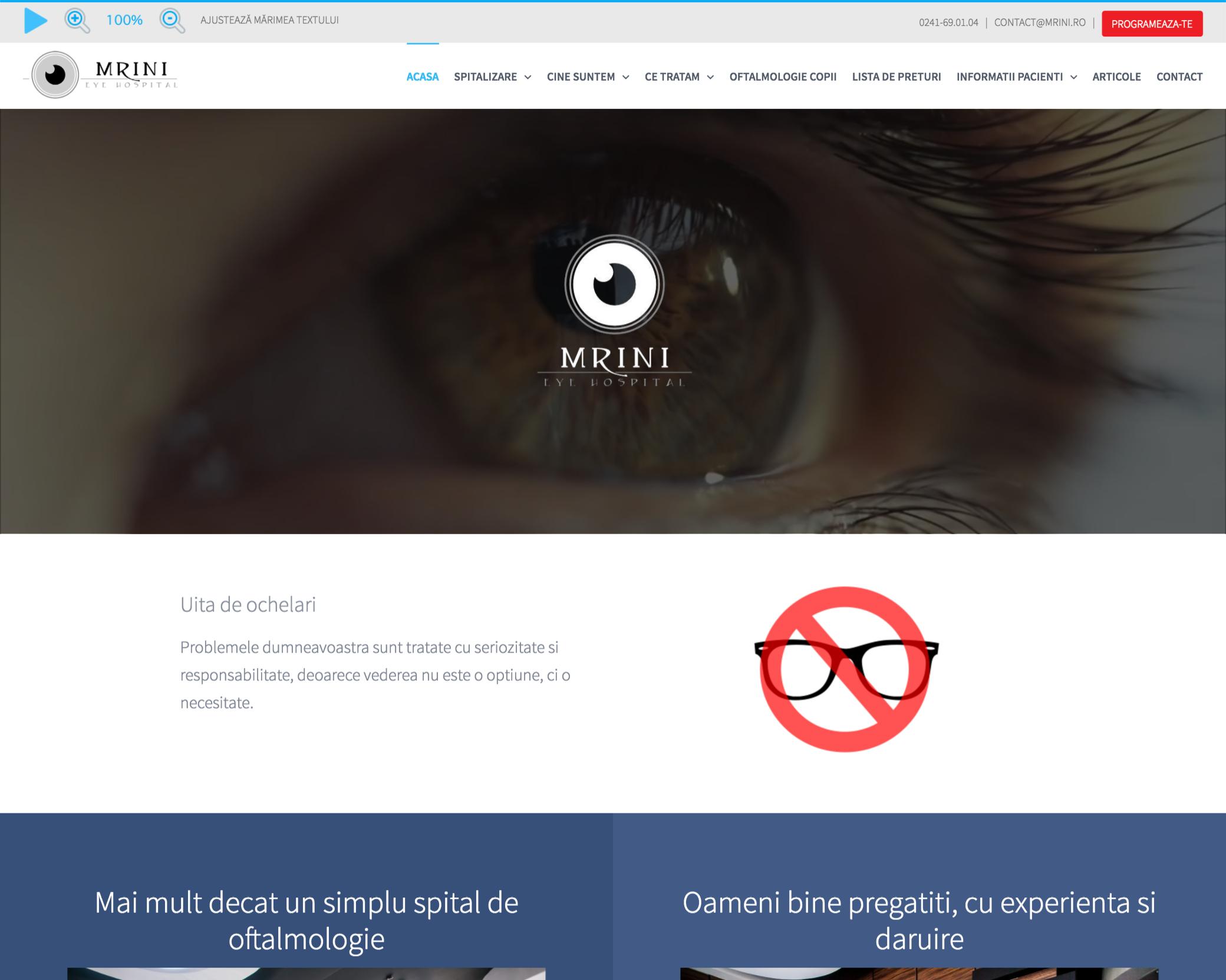 pagini web medical