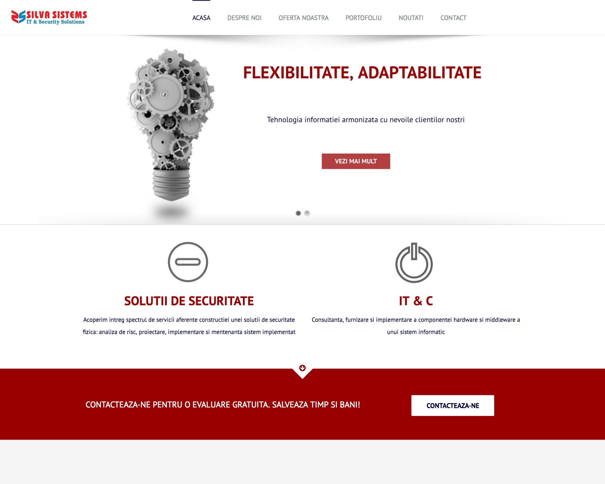 Pagini web firma