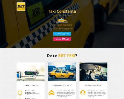 Web design taxi